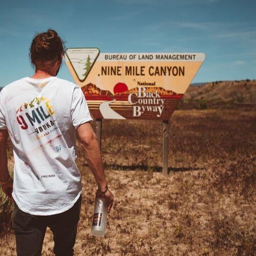 Der NINE MILE Canyon in den USA