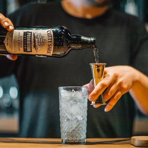 Cutty Sark Whisky Barkeeping