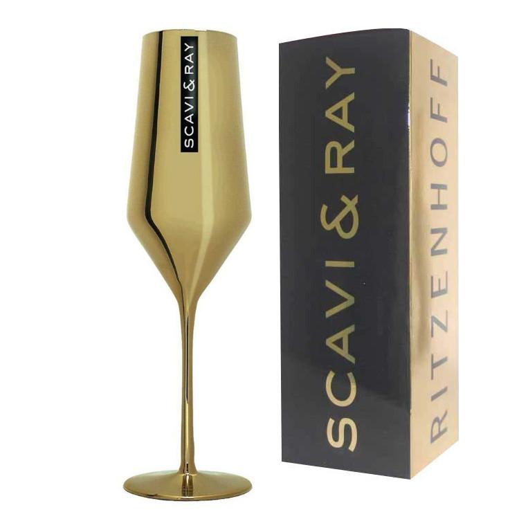 Scavi-goldenes-prosecco-glas