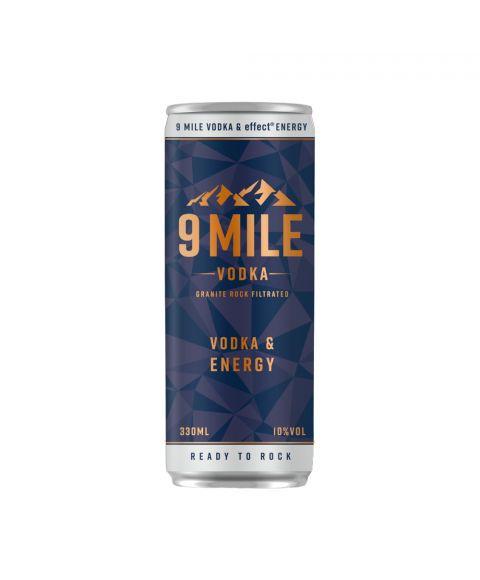 9 MILE Vodka und Energy vorgemischt in 330ml Dose