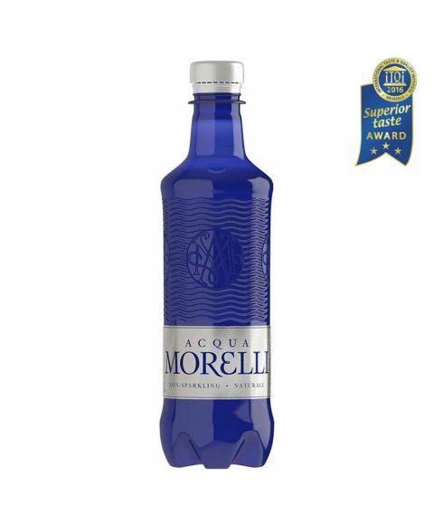 Acqua Morelli non sparkling, stilles Wasser in der 0,5l PET Flasche.