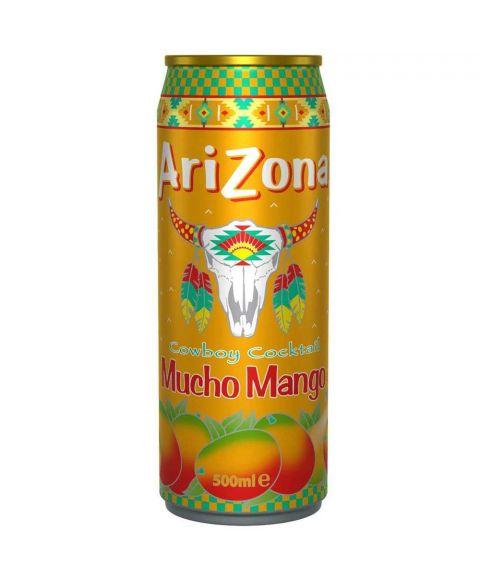 AriZona Cowboy Cocktail Mucho Mango Eistee in einer 0,5l Dose.