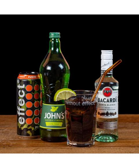 Cuba Libre Energy Cocktail-Paket alle Zutaten und fertiger Cocktail