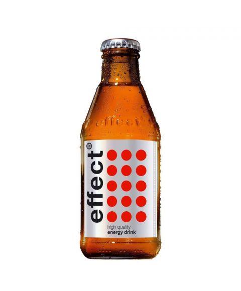 effect® energy in der coolen 0,20l Glasflasche mit dem unverkennbaren Design.