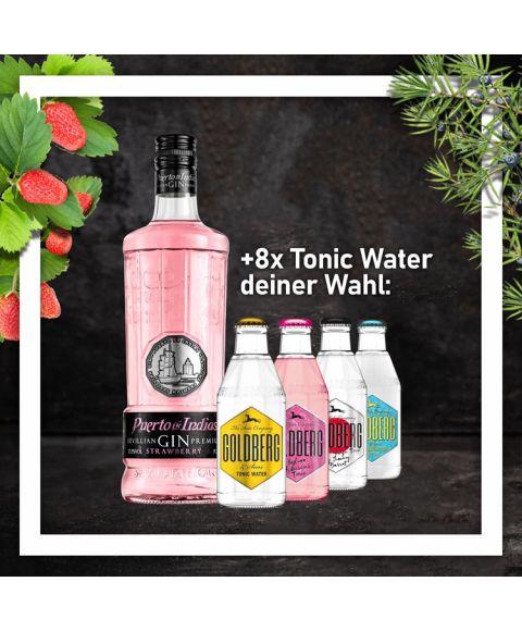 Puerto de Indias Strawberry Gin + Tonic Water [GnT-Bundle]