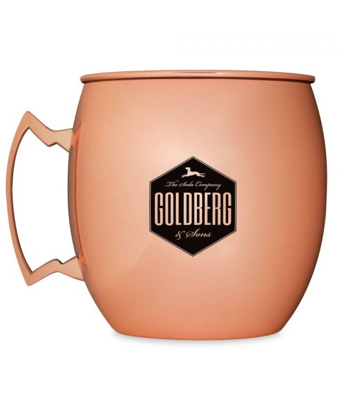 GOLDBERG XXL Kupferbecher mit 5 Liter Fassungsvermögen