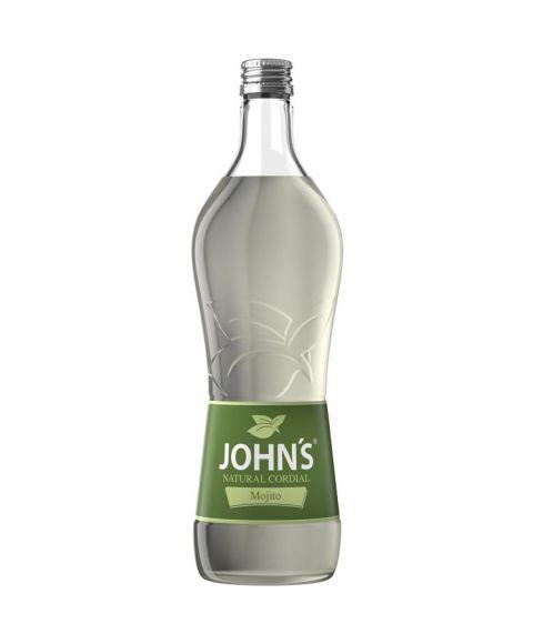 Johns Mojito Sirup zur Cocktailzubereitung in 0,7l Glasflasche