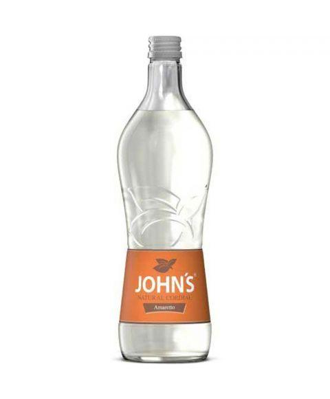 Johns Amaretto Sirup zur Cocktailzubereitung in 0,7l Glasflasche