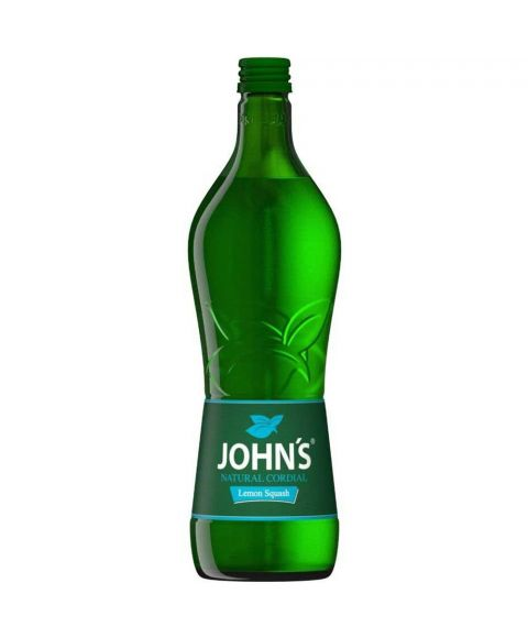Johns Sirup gepresste Limette in 0,7l Glasflasche