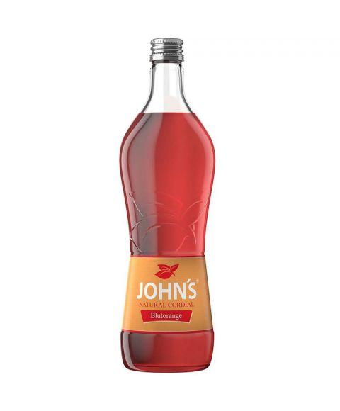 John´s Blutorange Sirup Cocktail Mixer in 0,7 Liter Flasche
