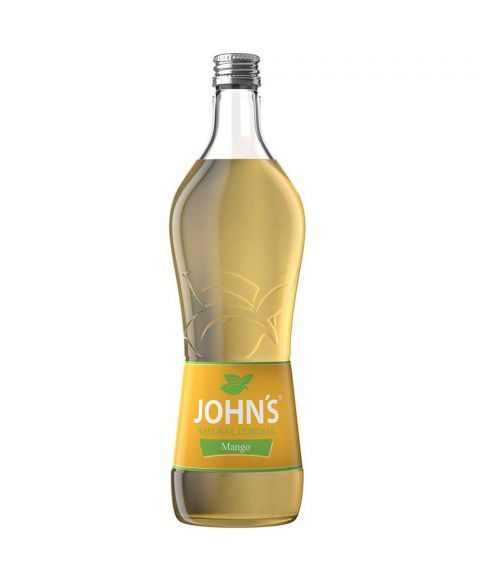 John´s Mango Cocktail Mixer Sirup in 0,7L Glasflasche