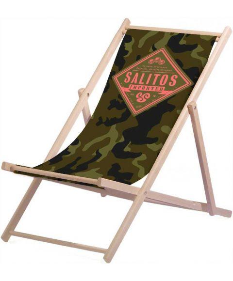SALITOS Liegestuhl Camouflage