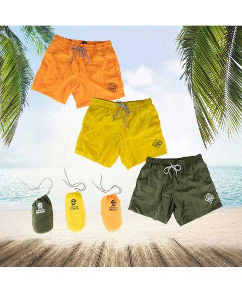 SALITOS Badehosen in drei verschiedenen Farben in praktischer Tasche