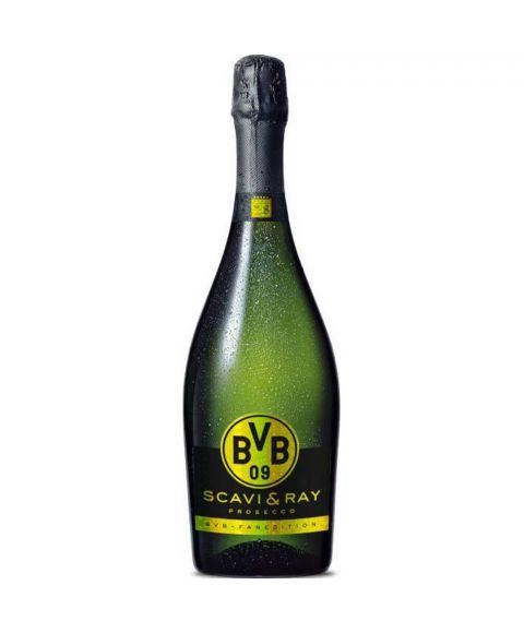 SCAVI & RAY Prosecco Spumante BVB Borussia Dortmund Fan Edition 0,75 Liter
