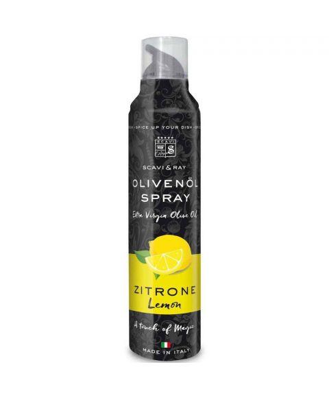 SCAVI & RAY Olivenöl mit Zitronen Geschmack in 200ml Sprühflasche