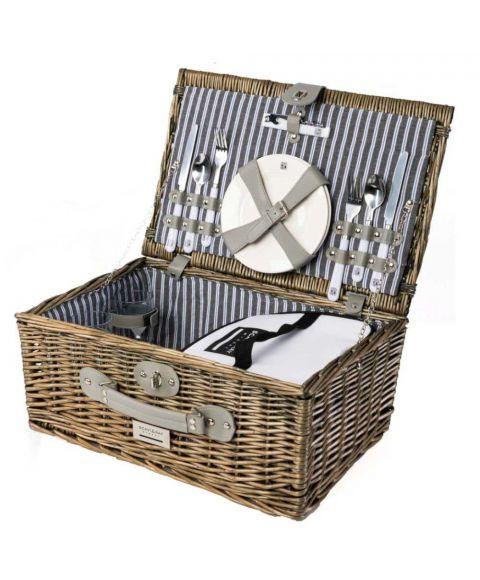 Picknickkorb, Picknickset von SCAVI & RAY mit Zubehör günstig
