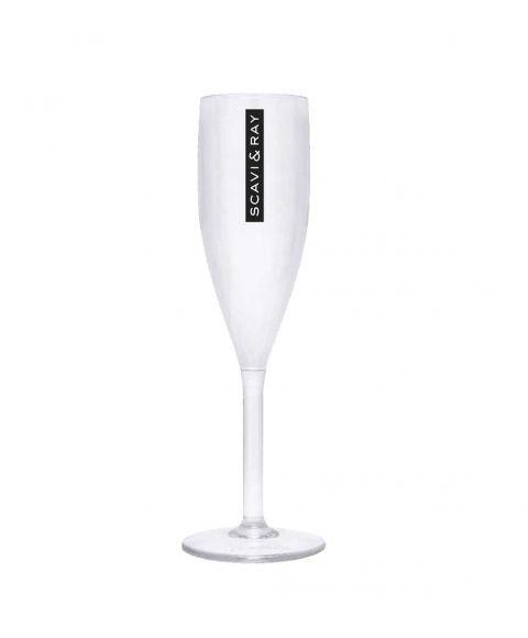 SCAVI & RAY Plastic Prosecco Acryl Glas - perfekt für Outdoor Partys im Freien