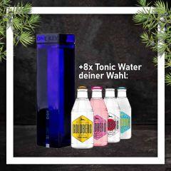 One Key Gin mit 8x Goldberg Tonic Water 0,2L Glasflasche nach Wahl im Paket zum Vorteilspreis