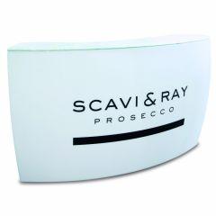 Beleuchtete LED Corner Bar mit Scavi & Ray Logo
