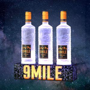 9 Mile Vodka Bottle Glorifier für 3 Flaschen