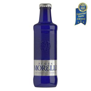 Acqua Morelli non Sparkling, stilles Wasser in der 0,25l Glasflasche.