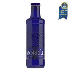 Acqua Morelli Sparkling, Mineralwasser mit Kohlensäure in der 0,25l Glasflasche.