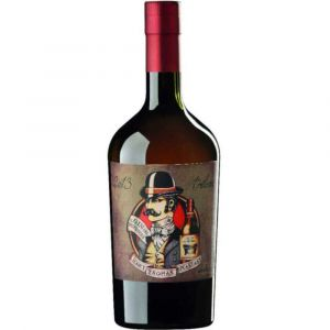 DEL PROFESSORE Gin Jerry Thomas Speakeasy in 0,7l Flasche mit rotem Hals.