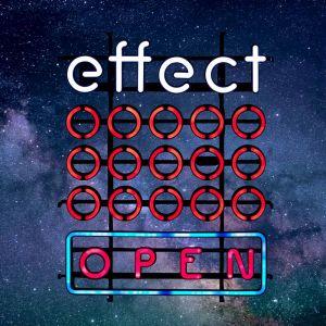 effect neon sign Leuchtreklame Neonreklame Zeichen open