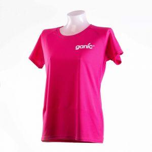 Ganic vitamin water Sportshirt pink atmungsaktiv Vorderseite