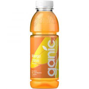 Ganic  vitamin water Golden Rush in 0,5l PET Flasche.
