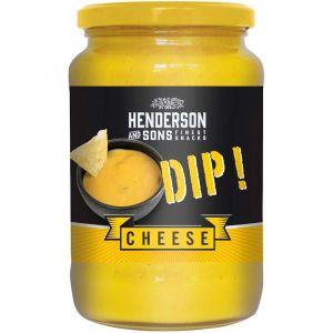 Henderson & Sons Cheese Dip für Tortilla Chips im 1kg Großgebinde für Gastronomie