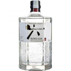 Roku Japanese Gin in floraler 0,7l Flasche