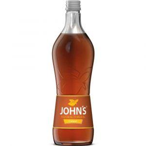 Johns Karamell Sirup zum Cocktail mischen in 0,7l Glasflasche