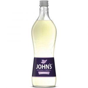 Johns Holunderblüte zum Cocktail mischen in 0,7l Glasflasche