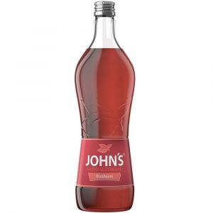 John´s Himbeer Sirup Cocktail Mixer in 0,7L Flasche