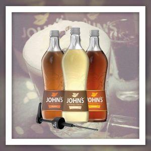 Johns Mixer für geschmackvollen kaffee Paket - hazelnut, caramel, almond