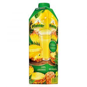 Ananassaft von Pfanner Fruchtsaefte in 1 Liter SIG Karton Packung
