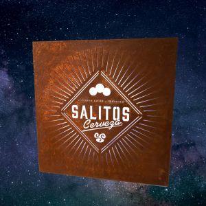 Salitos Cerveza leuchtendes Rusty Board Light Sign