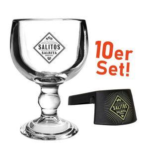 SALITOS Salrita 12er Set Vorteilspack günstig online kaufen mit 12 Gläsern und 12 Clips
