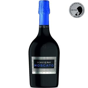 SCAVI & RAY Moscato Wein in 0,7l Flasche (Blau) sparkling Wine