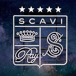 SCAVI & RAY LED Neon Sign Leuchtreklame mit Wappen auf weißem Hintergrund
