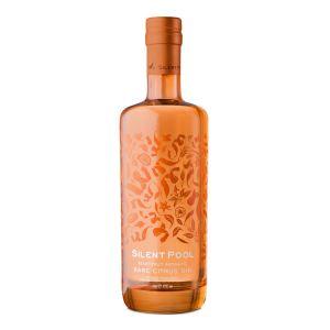 Silent Pool Rare Citrus Gin 700ml orange Flasche