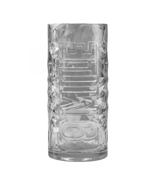 9 MILE Vodka Glas Acryl Front Ansicht