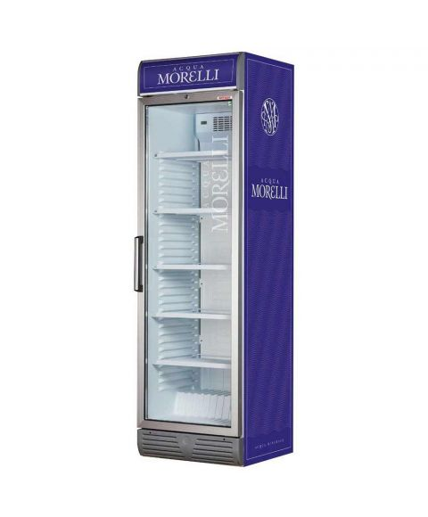 Acqua Morelli Kühlschrank blau mit Logo
