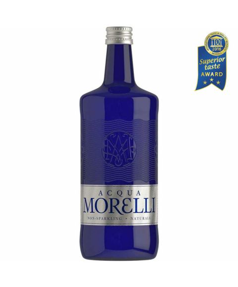 Acqua Morelli non sparkling, stilles Wasser in der 0,75l Glasflasche.