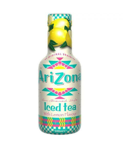 AriZona Iced Tea Lemon in einer 0,5l PET Flasche.