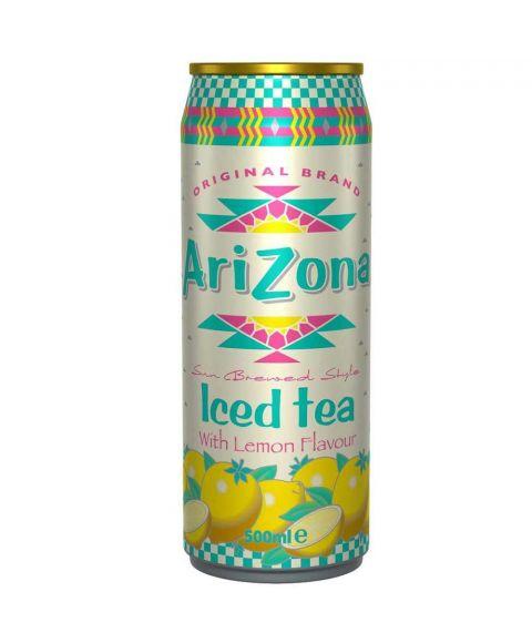 AriZona Iced Tea Lemon in einer 0,5l Dose.