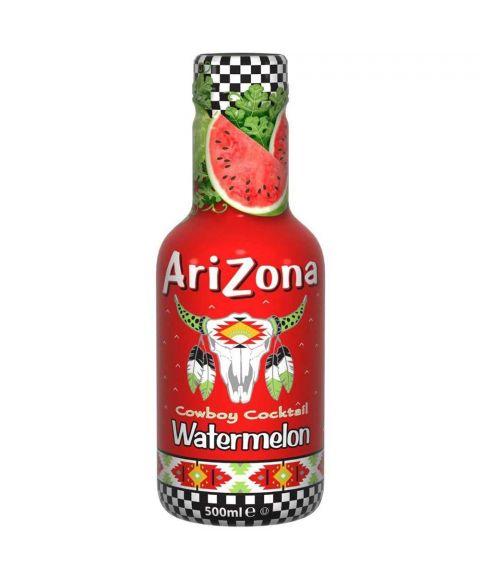 AriZona Cowboy Cocktail Watermelon Eistee in einer 0,5l PET Flasche.