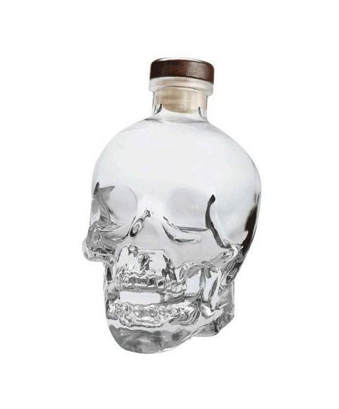 Crystal Head Vodka in Totenkopfflasche Design 0,7l