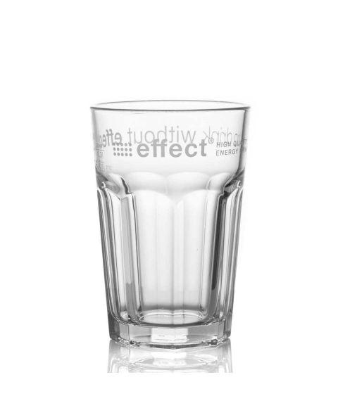 effect® Longdrinkglas transparent mit effect Logo